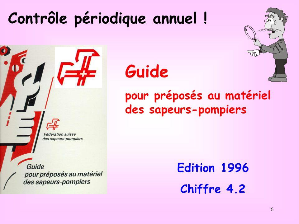 Guide Contrôle périodique annuel !