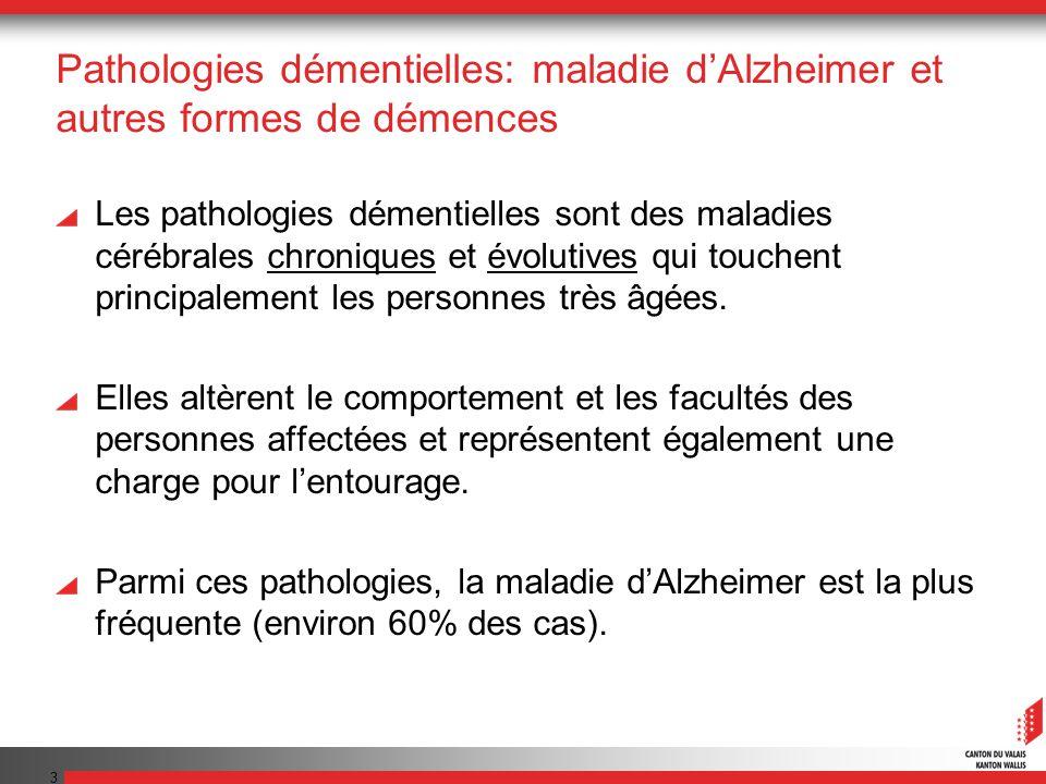 Pathologies démentielles: maladie d'Alzheimer et autres formes de démences