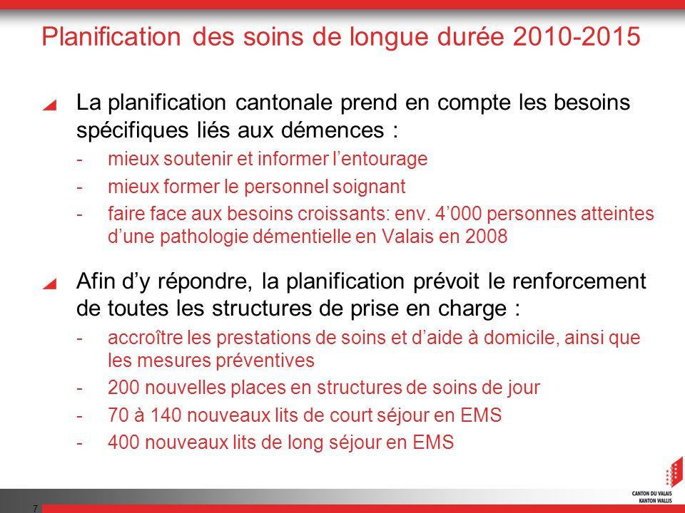 Planification des soins de longue durée 2010-2015