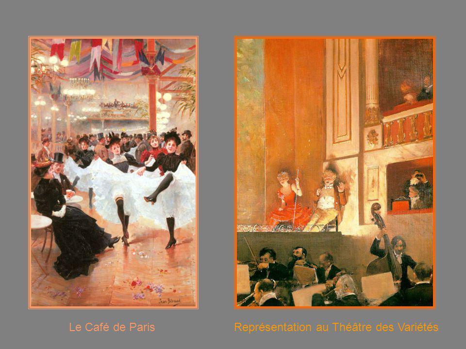 Le Café de Paris Représentation au Théâtre des Variétés