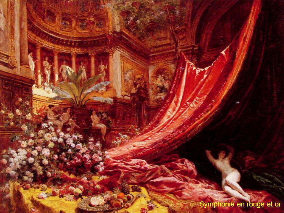 Symphonie en rouge et or