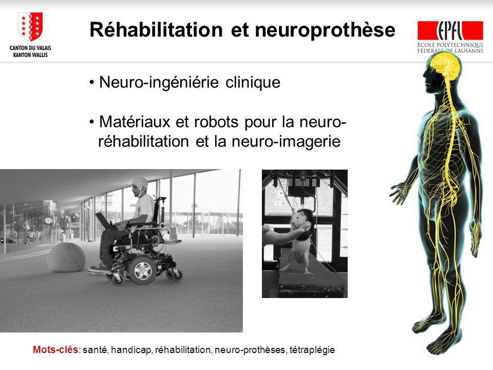Réhabilitation et neuroprothèse