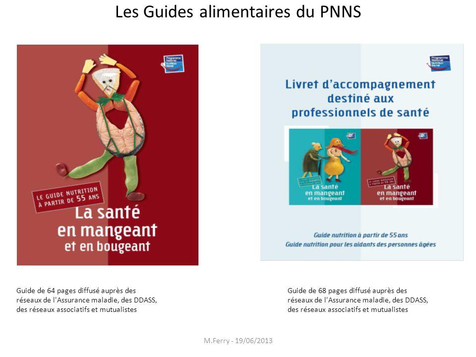 Les Guides alimentaires du PNNS