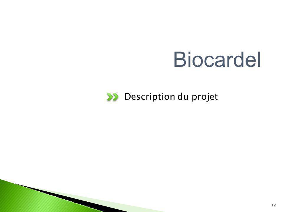 Biocardel Description du projet