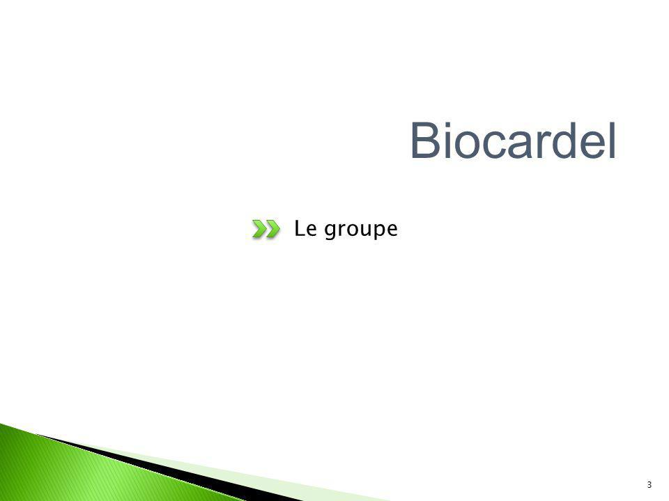 Biocardel Le groupe