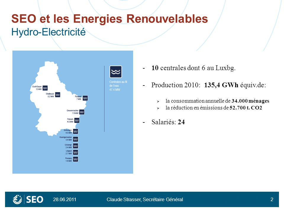 SEO et les Energies Renouvelables Hydro-Electricité