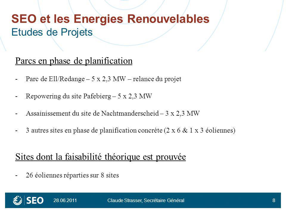 SEO et les Energies Renouvelables Etudes de Projets