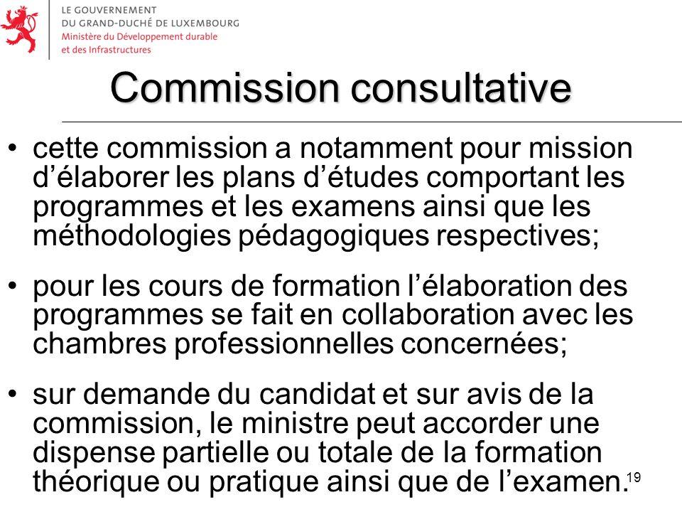Commission consultative