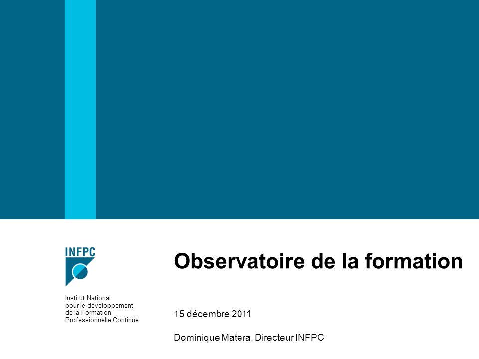 Observatoire de la formation