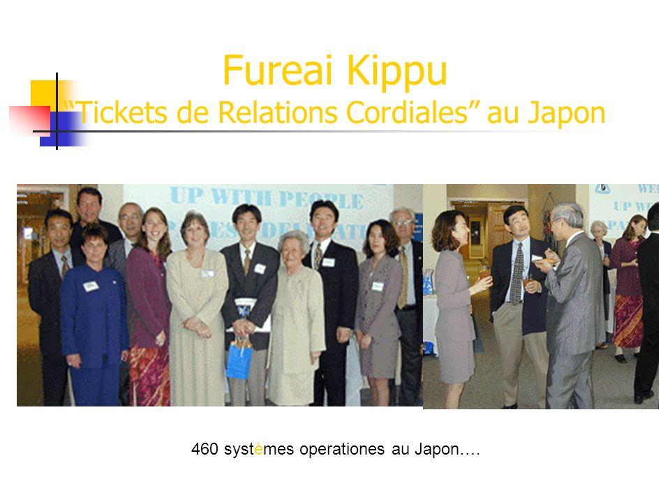 Fureai Kippu Tickets de Relations Cordiales au Japon
