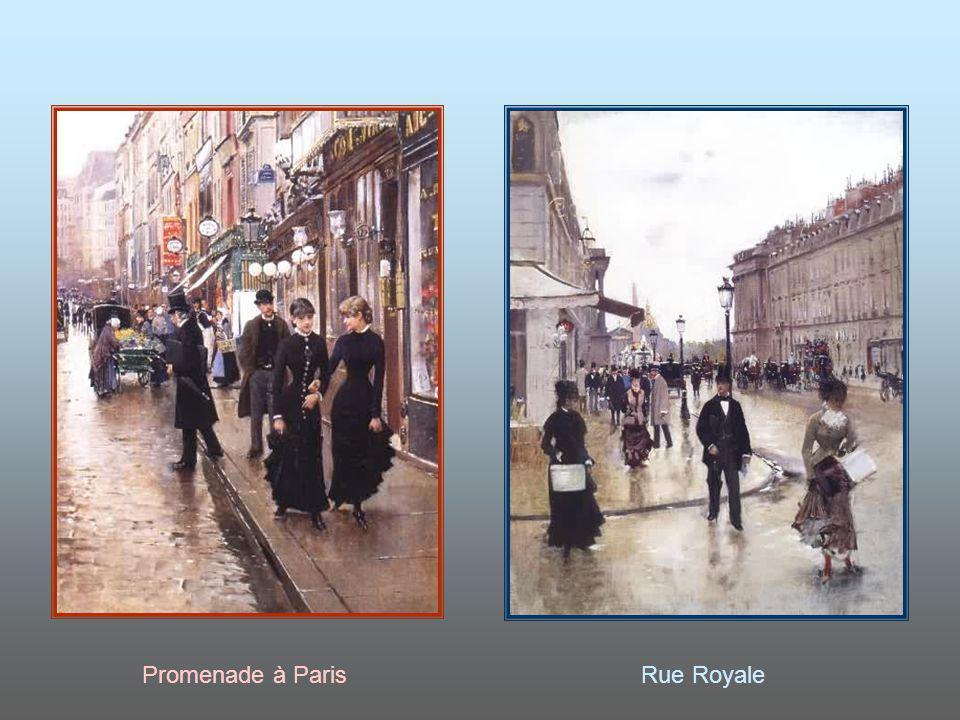Promenade à Paris Rue Royale