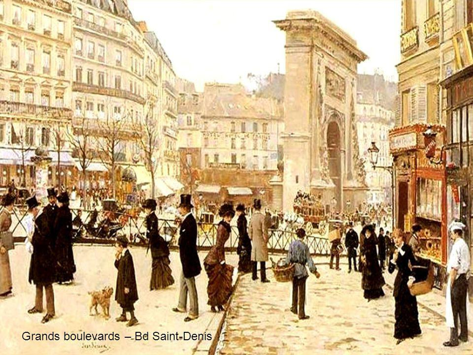 Grands boulevards – Bd Saint-Denis