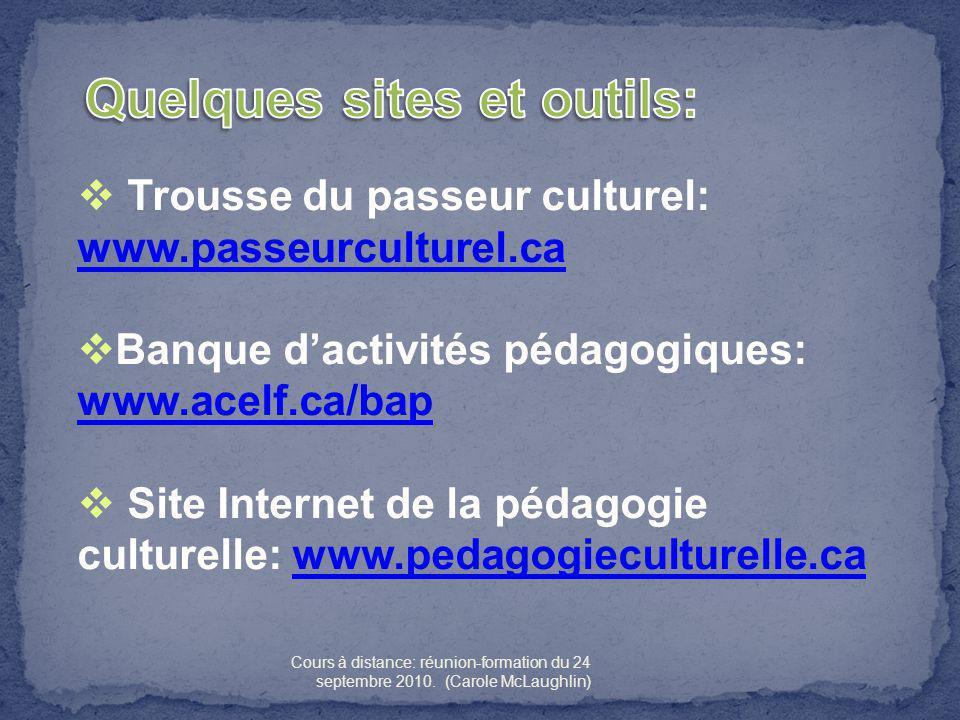 Quelques sites et outils: