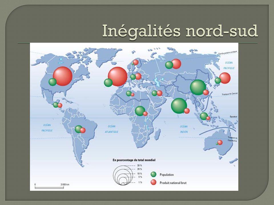 Inégalités nord-sud