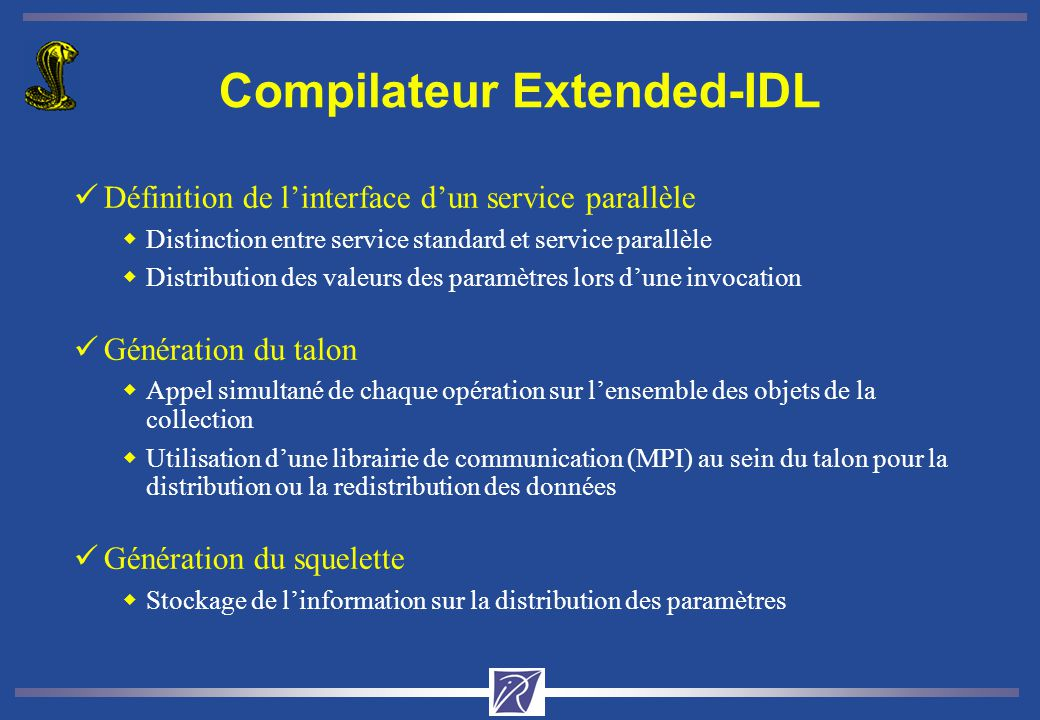 Compilateur Extended-IDL