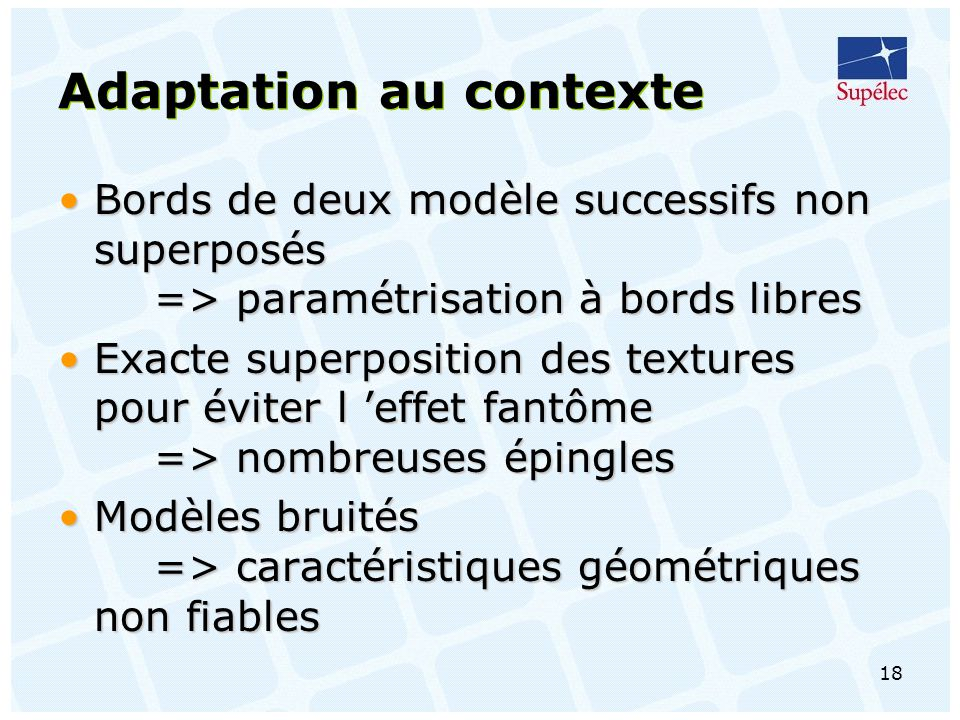 Adaptation au contexte
