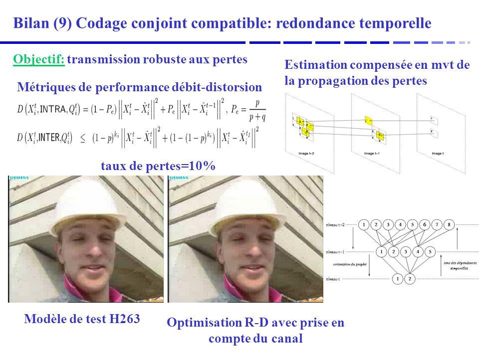 Optimisation R-D avec prise en