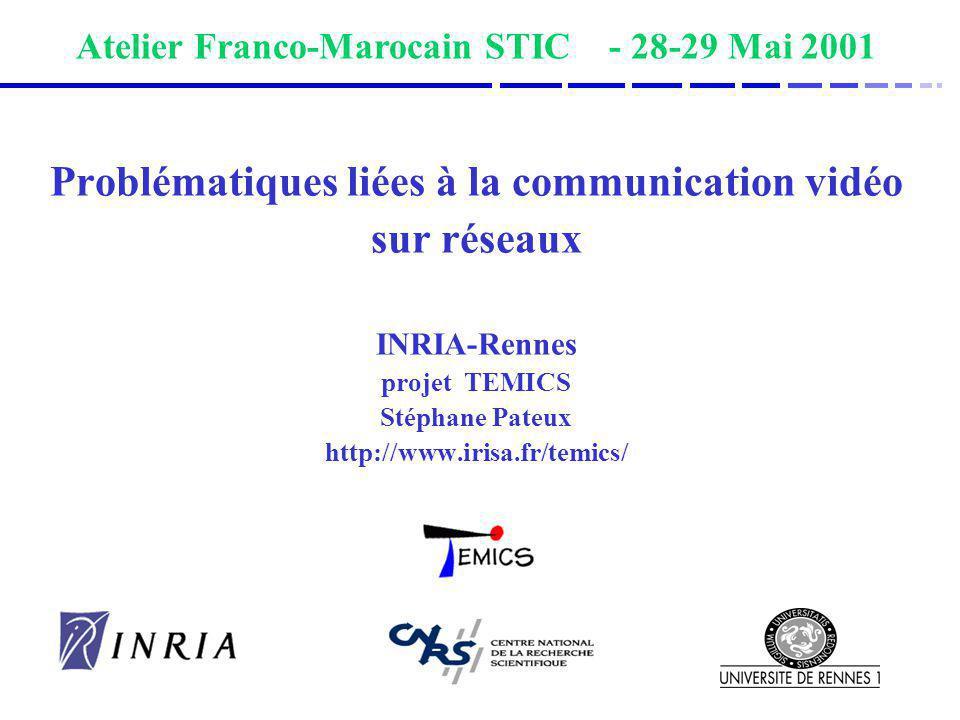 Atelier Franco-Marocain STIC - 28-29 Mai 2001