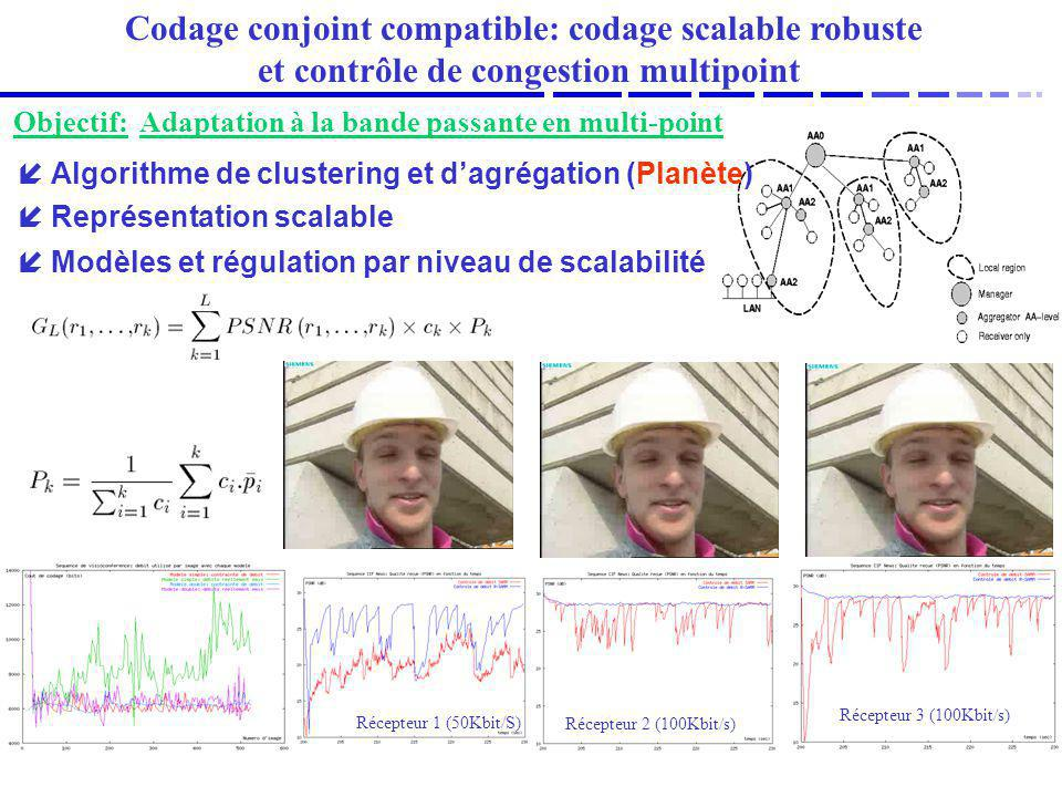 Codage conjoint compatible: codage scalable robuste