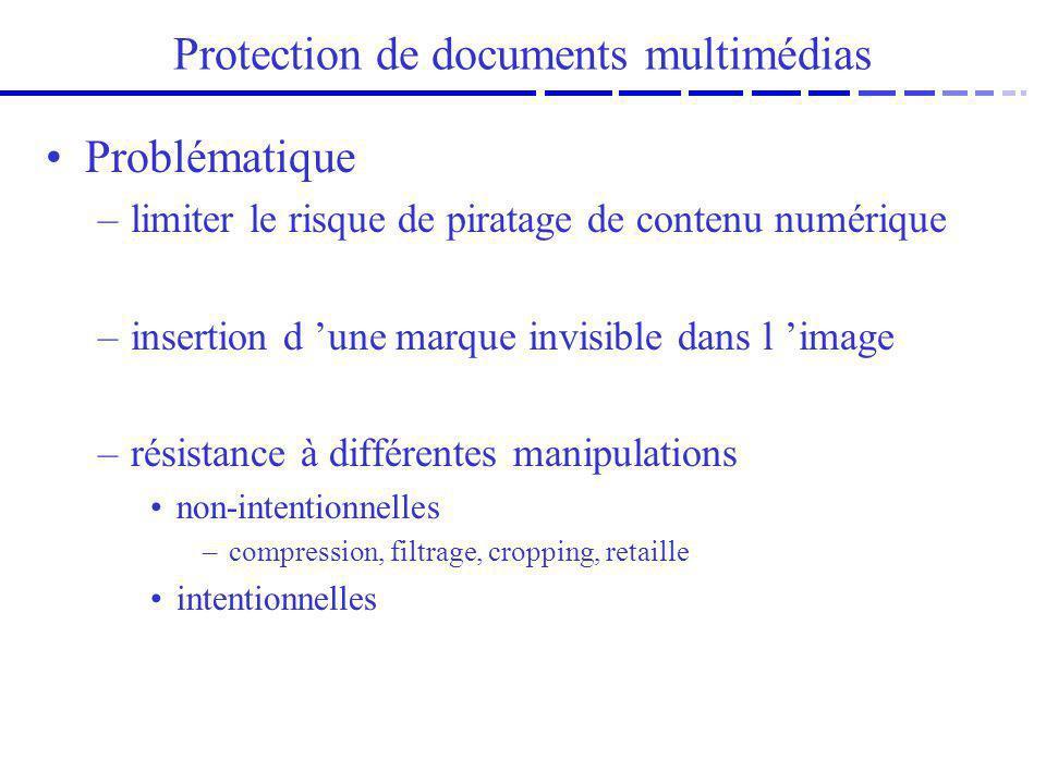Protection de documents multimédias