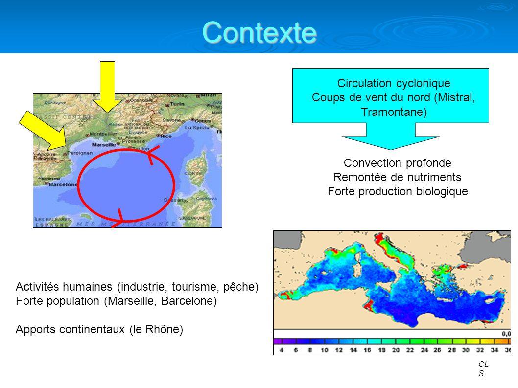 Contexte Circulation cyclonique