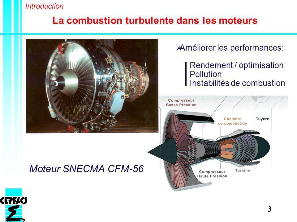 La combustion turbulente dans les moteurs