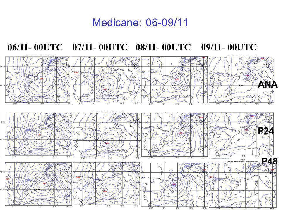 Medicane: 06-09/11 06/11- 00UTC 07/11- 00UTC 08/11- 00UTC 09/11- 00UTC