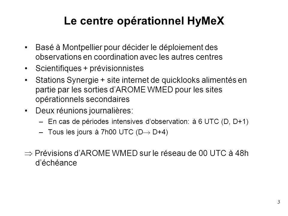 Le centre opérationnel HyMeX