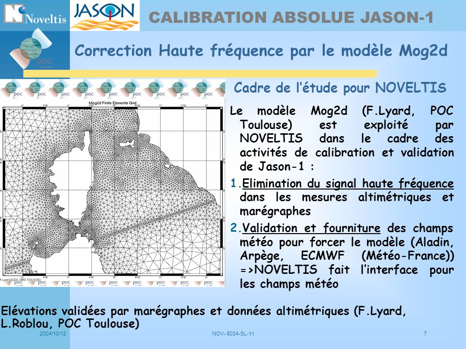CALIBRATION ABSOLUE JASON-1