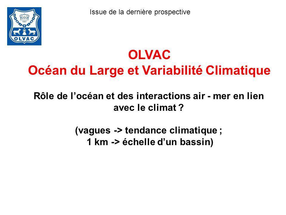 OLVAC Océan du Large et Variabilité Climatique