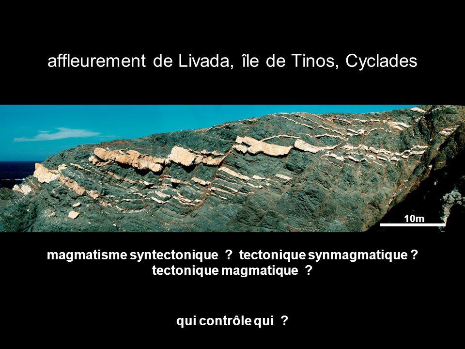 affleurement de Livada, île de Tinos, Cyclades