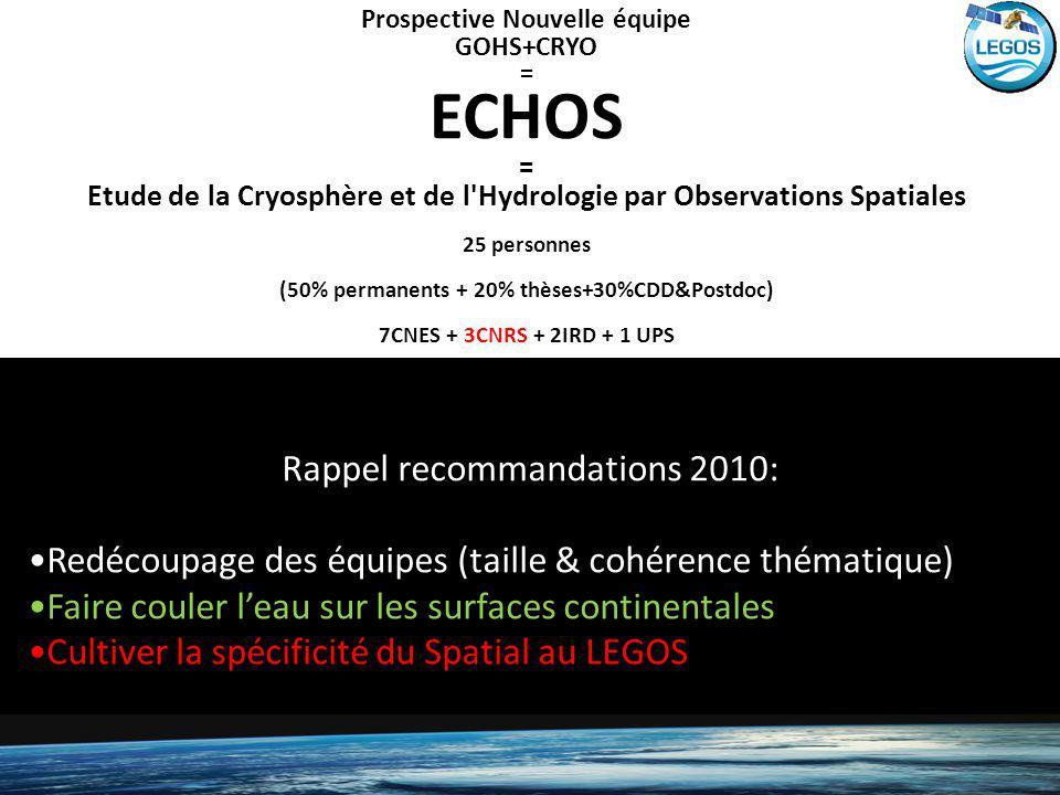 ECHOS Rappel recommandations 2010: