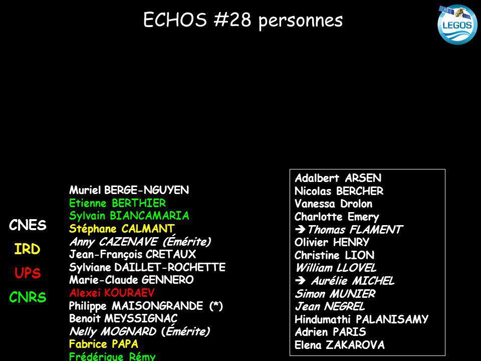 ECHOS #28 personnes CNES IRD UPS CNRS Adalbert ARSEN Nicolas BERCHER