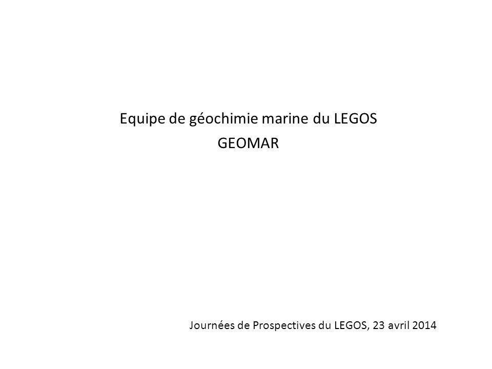 Equipe de géochimie marine du LEGOS