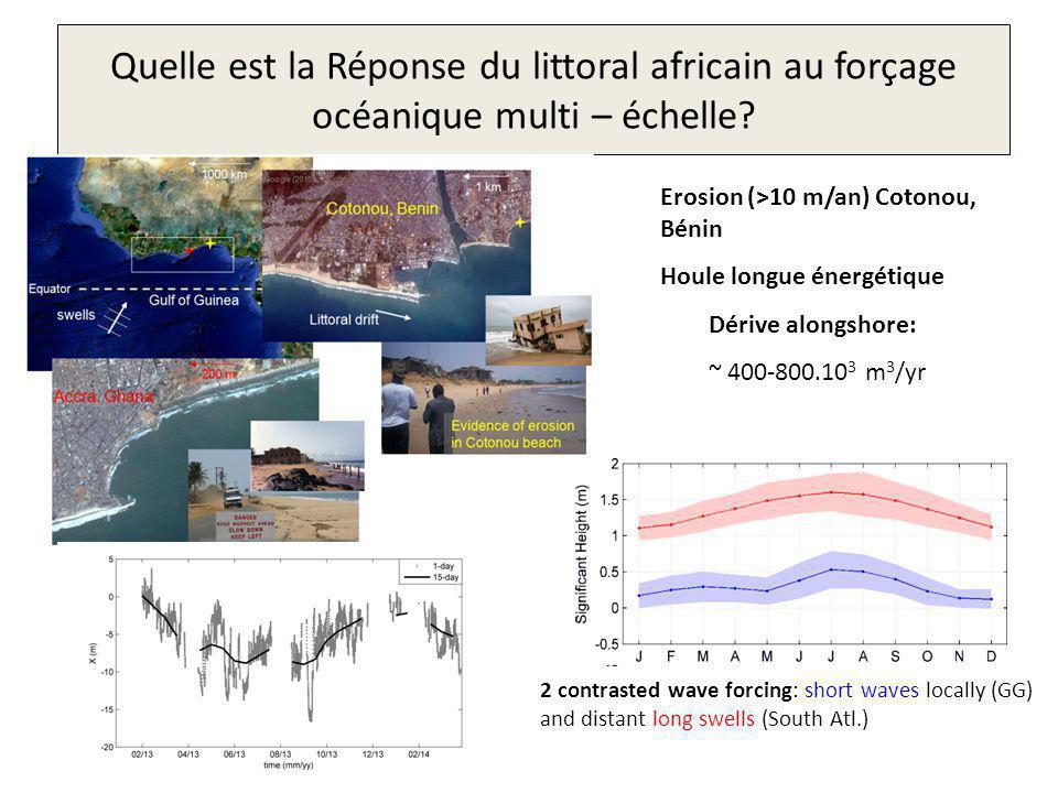 Quelle est la Réponse du littoral africain au forçage océanique multi – échelle