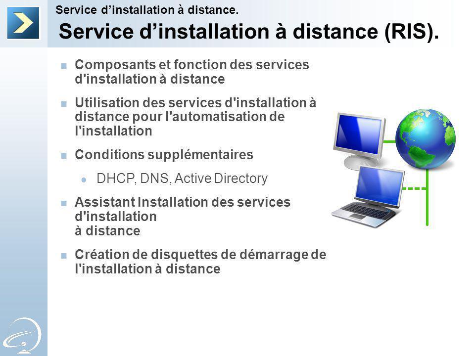 Service d'installation à distance (RIS).