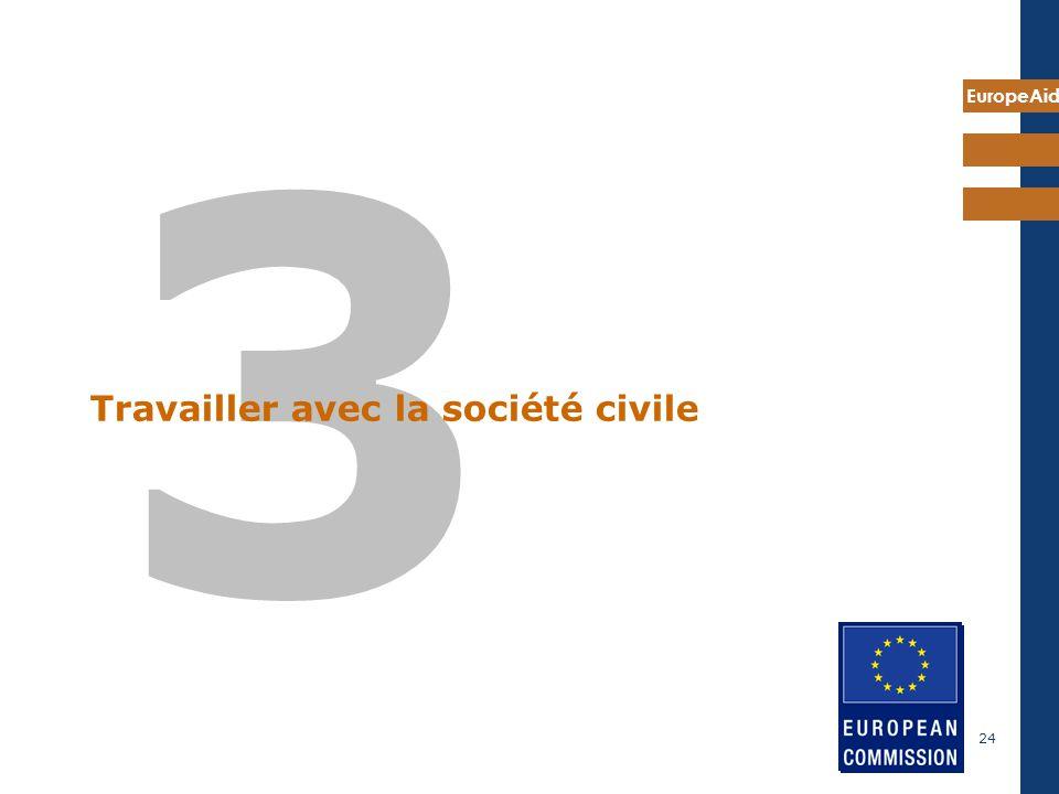 7 mai 2009 Travailler avec la société civile