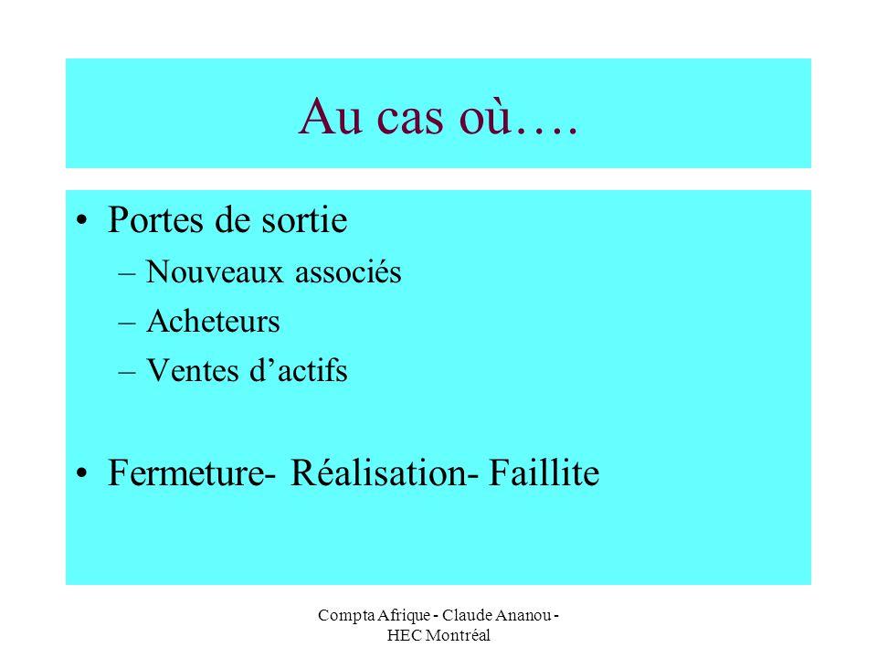 Compta Afrique - Claude Ananou - HEC Montréal