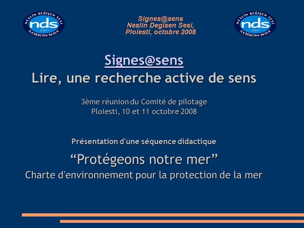 Signes@sens Neslin Degisen Sesi, Ploiesti, octobre 2008