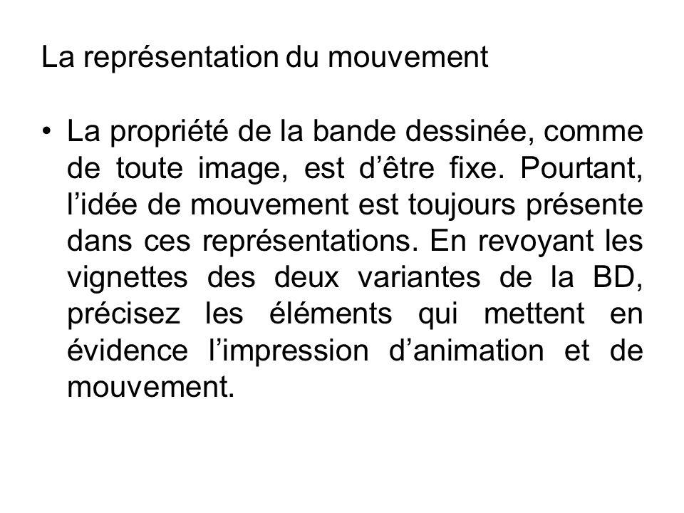 La représentation du mouvement