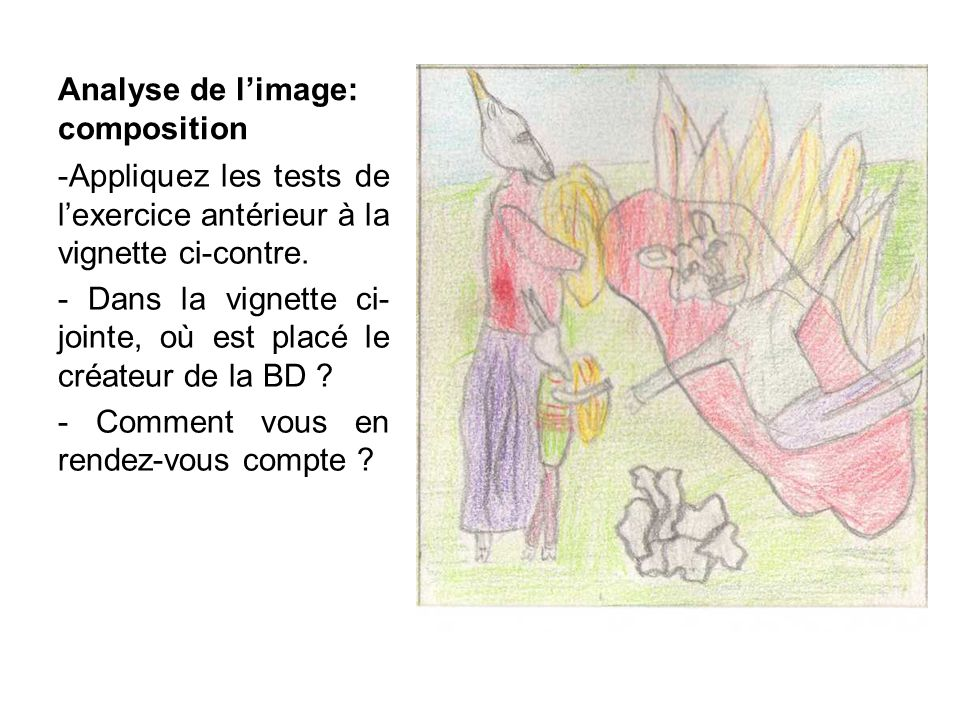 Analyse de l'image: composition