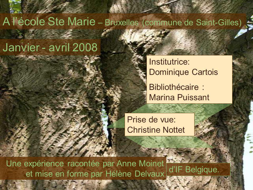 A l'école Ste Marie – Bruxelles (commune de Saint-Gilles)