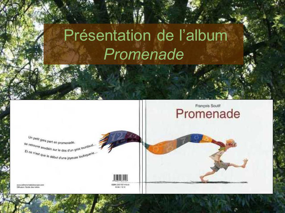 Présentation de l'album Promenade