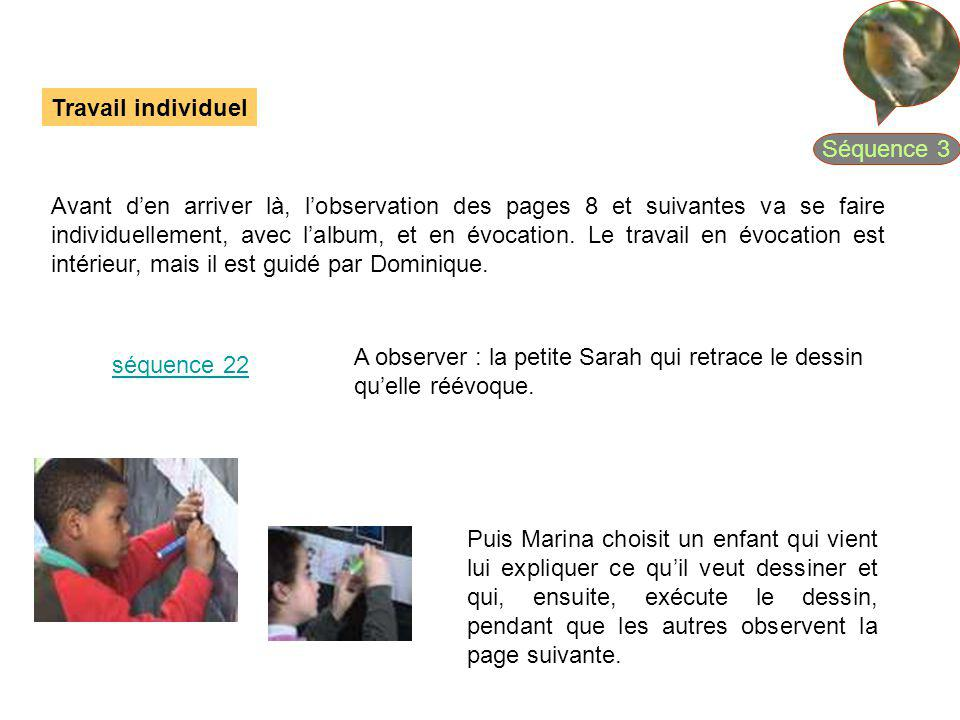 Séquence 3 Travail individuel.