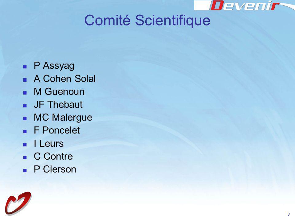Comité Scientifique P Assyag A Cohen Solal M Guenoun JF Thebaut