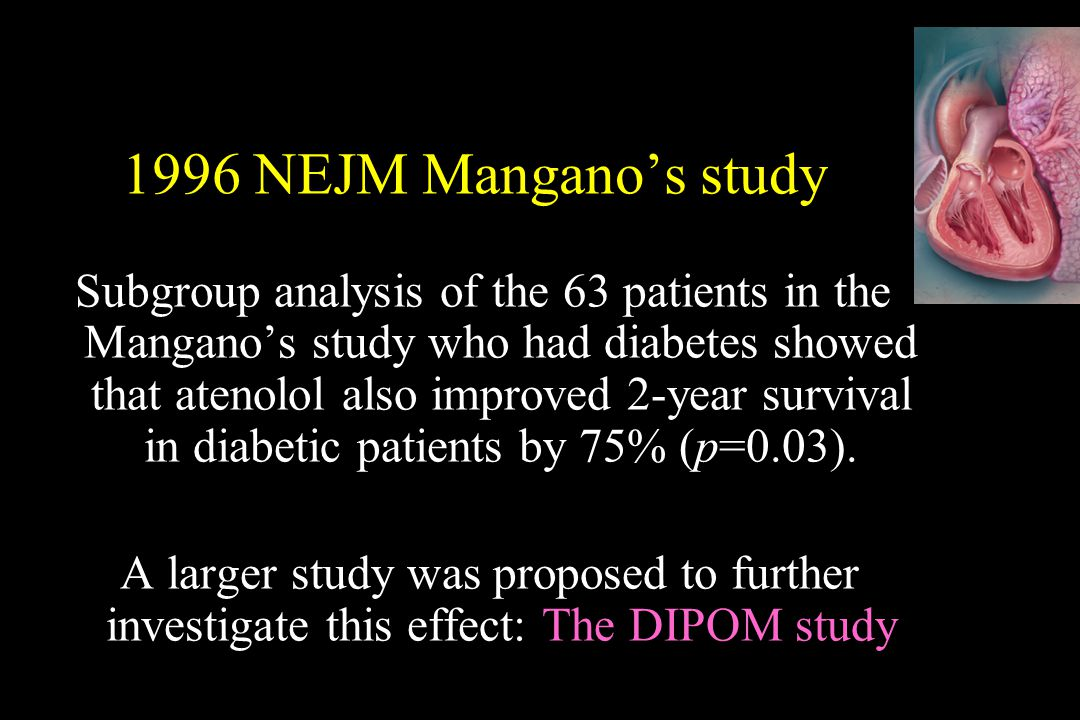 1996 NEJM Mangano's study