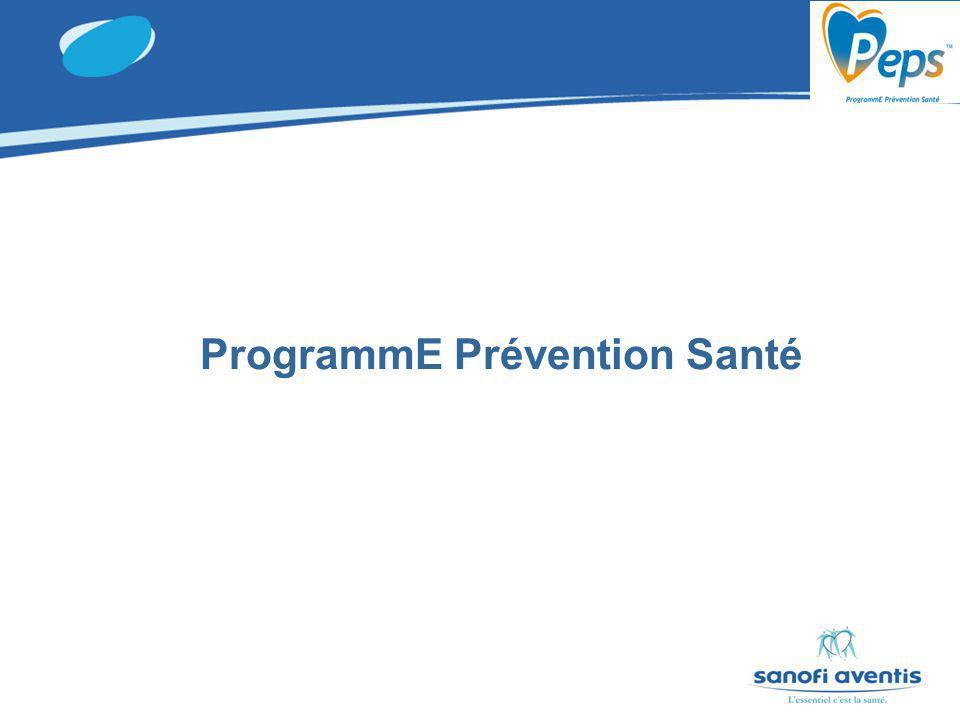 ProgrammE Prévention Santé
