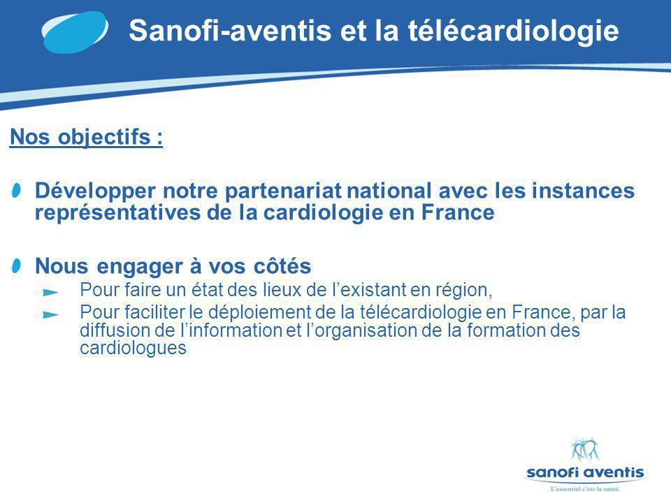 Sanofi-aventis et la télécardiologie