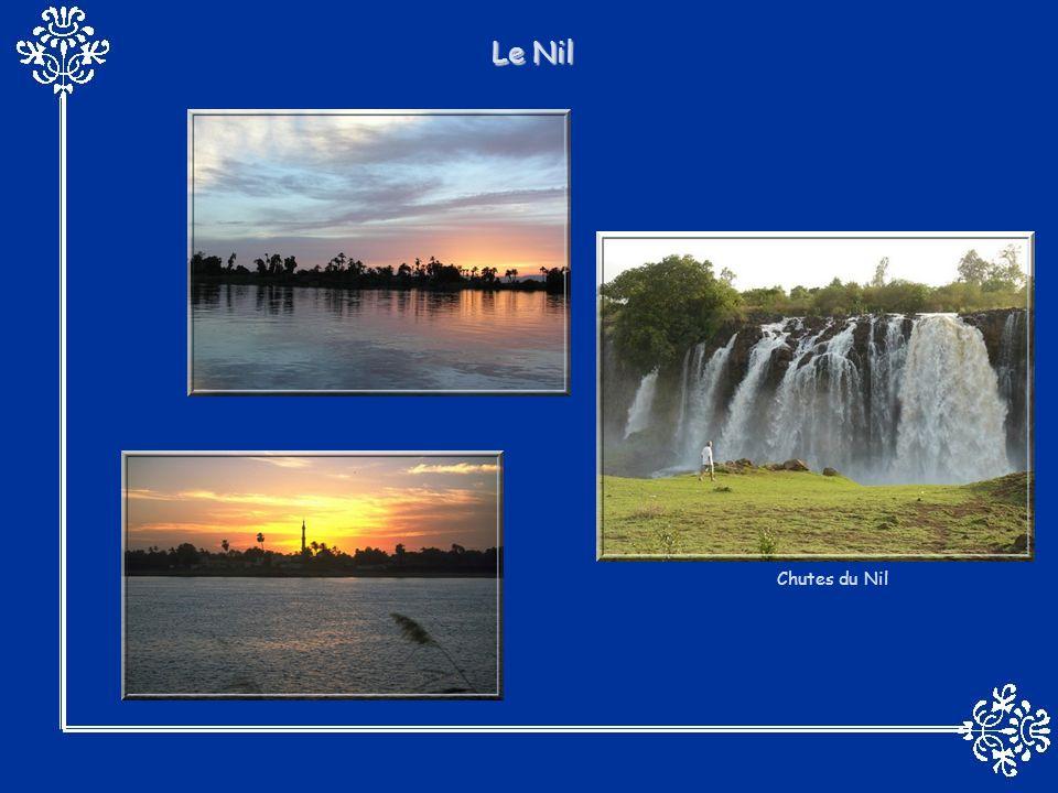 Le Nil Chutes du Nil
