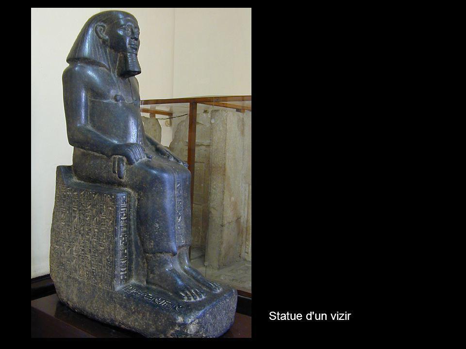 Statue d un vizir